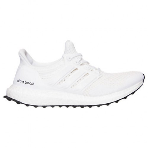 500x500 Wht Women's Adidas Ultra Boost Knit Running Shoes Whitewhite