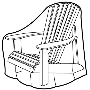 350x350 Weather Wrap Adirondack Chair Cover Patio Loveseat