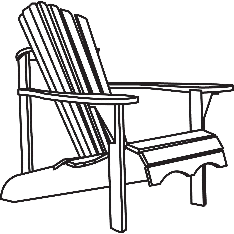 1500x1500 Classic Accessories Veranda Adirondack Chair Cover Waterproof