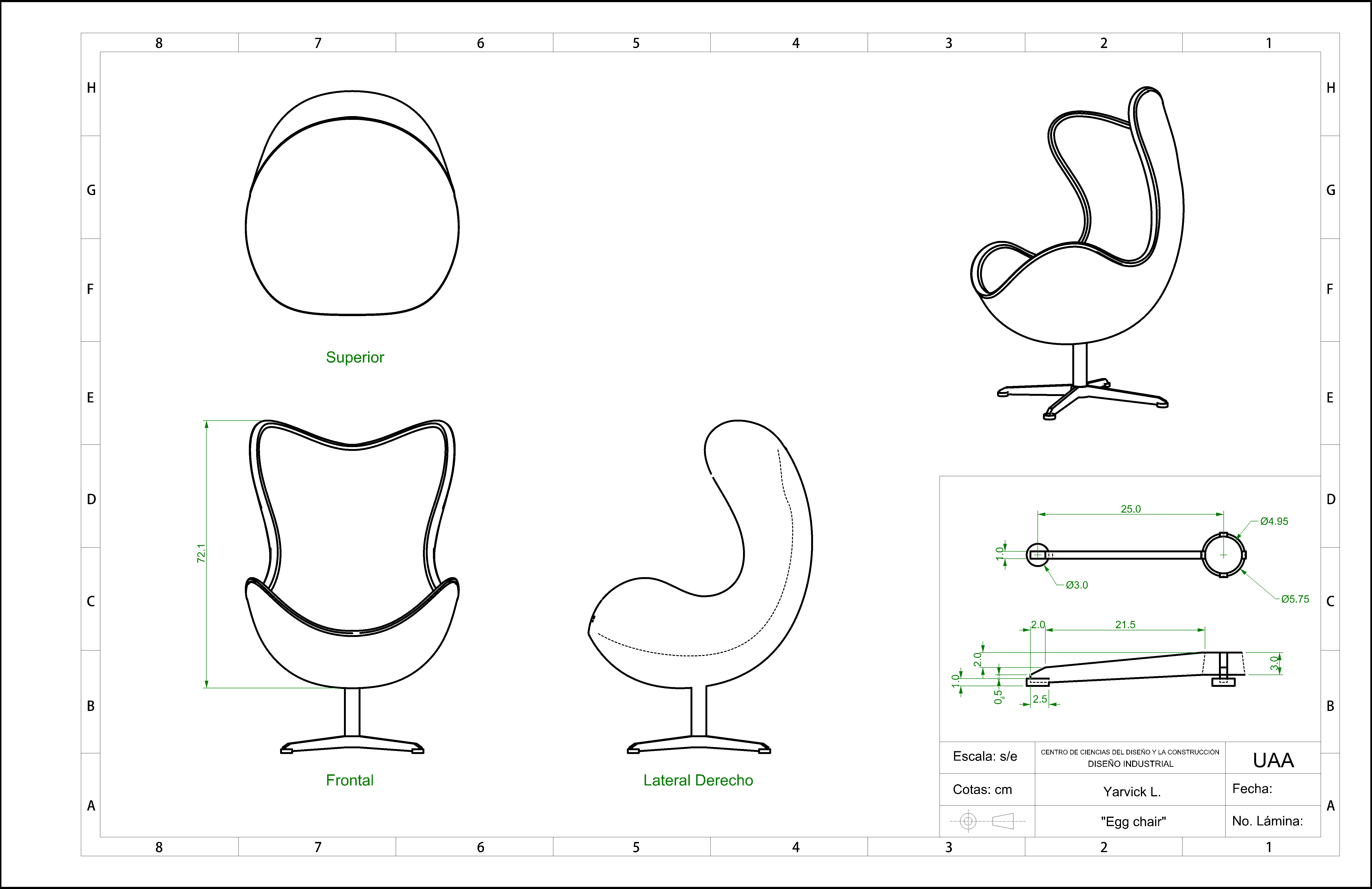 5800x3760 Desk Chair Plan Guide Adirondack Chair Cad Drawing