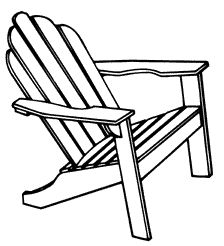 Adirondack Chairs Drawing at GetDrawings.com | Free for ...