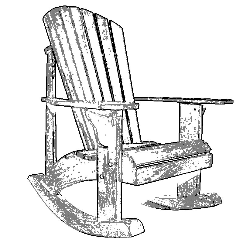 800x800 Adirondack Chair Plans By Thebarleyharvest On Etsy