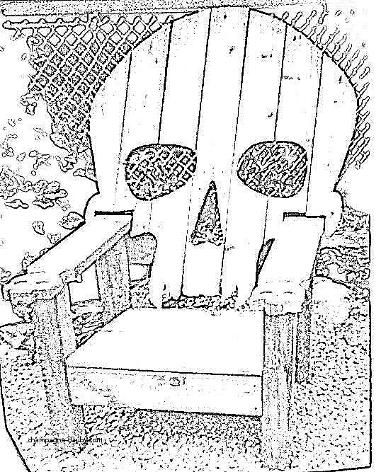 538x667 Adirondack Chairs Inspirational Skull Adirondack Chair Plans Skull