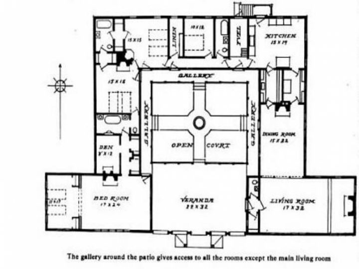720x540 Uncategorized Adobe Homes Plans Within Fascinating House Adobe