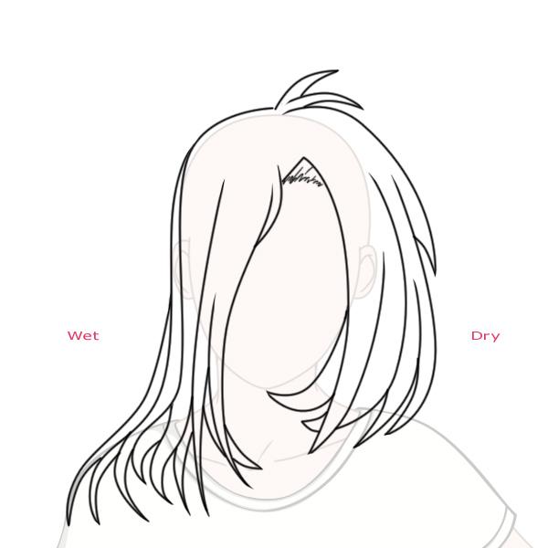 600x600 Create Big Gravity Defying Anime Styled Hair In Adobe Photoshop