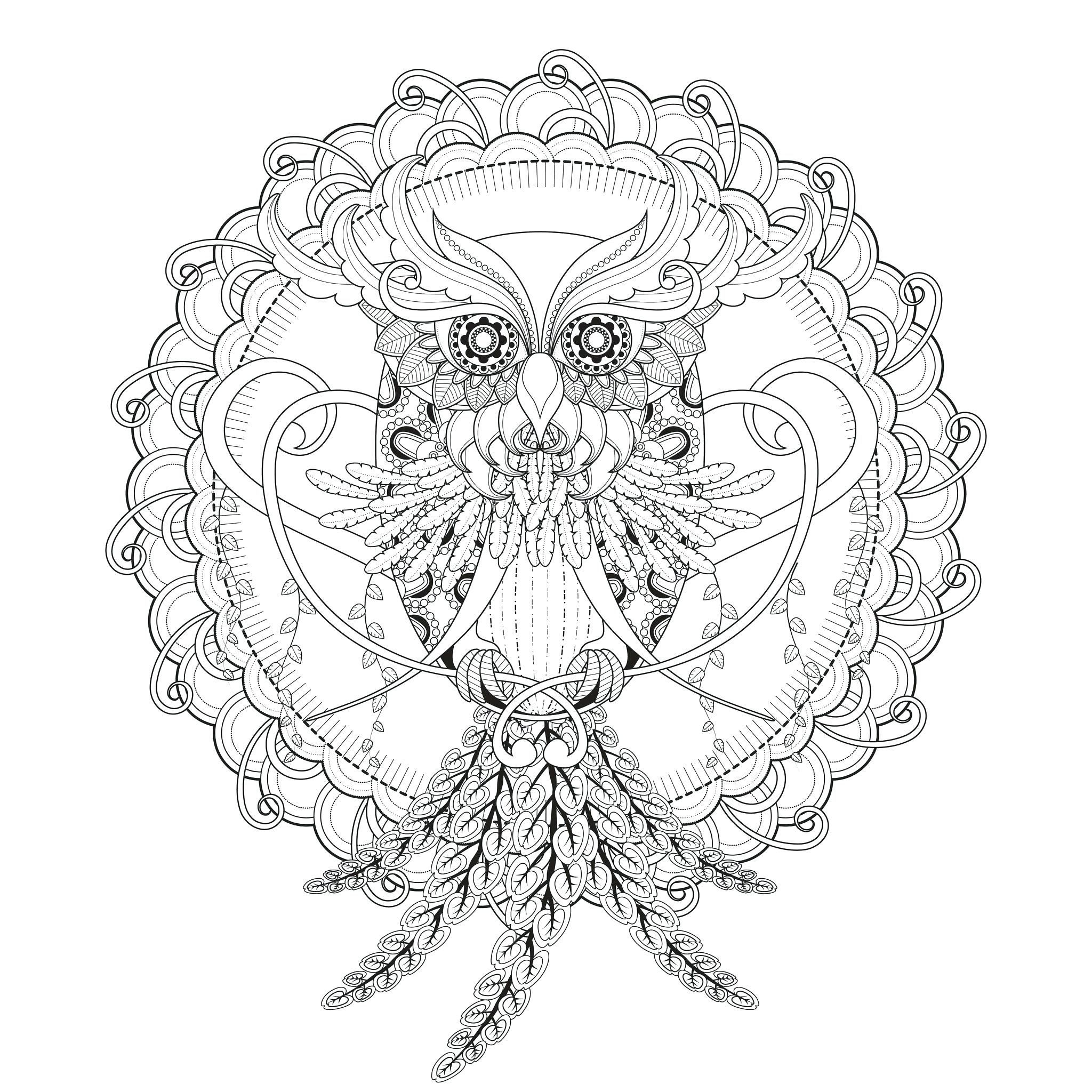 2048x2048 Coloring Mandala Coloring Pages Advanced Level Free Printable