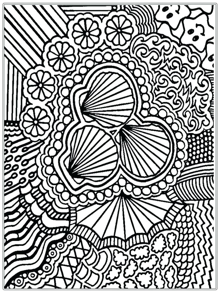 736x981 Free Coloring Pages For Adults Online Good Advanced
