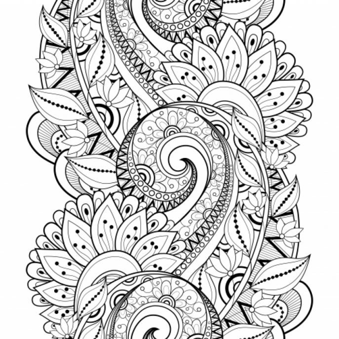 687x687 Free Printable Advanced Coloring Pages At Coloring Book Online