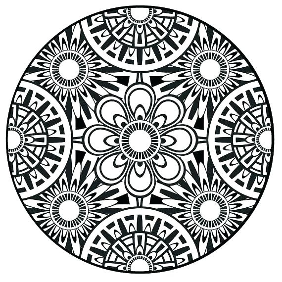 570x570 Online Mandalas Coloring Pages Free Coloring Pages Of Angel Adult