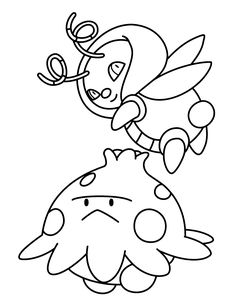 236x307 Cute Pokemon Coloring Pages