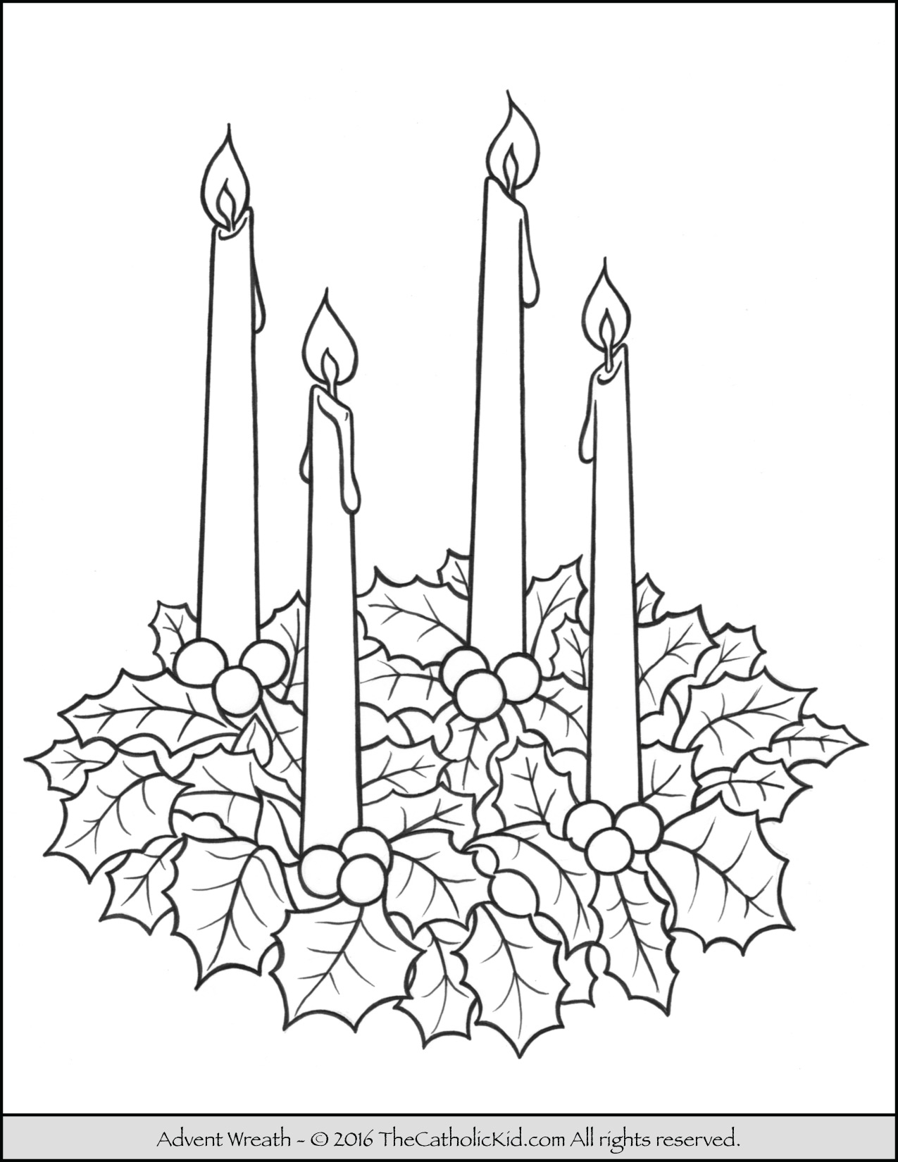 1275x1650 advent wreath coloring page advent amp christmas coloring pages