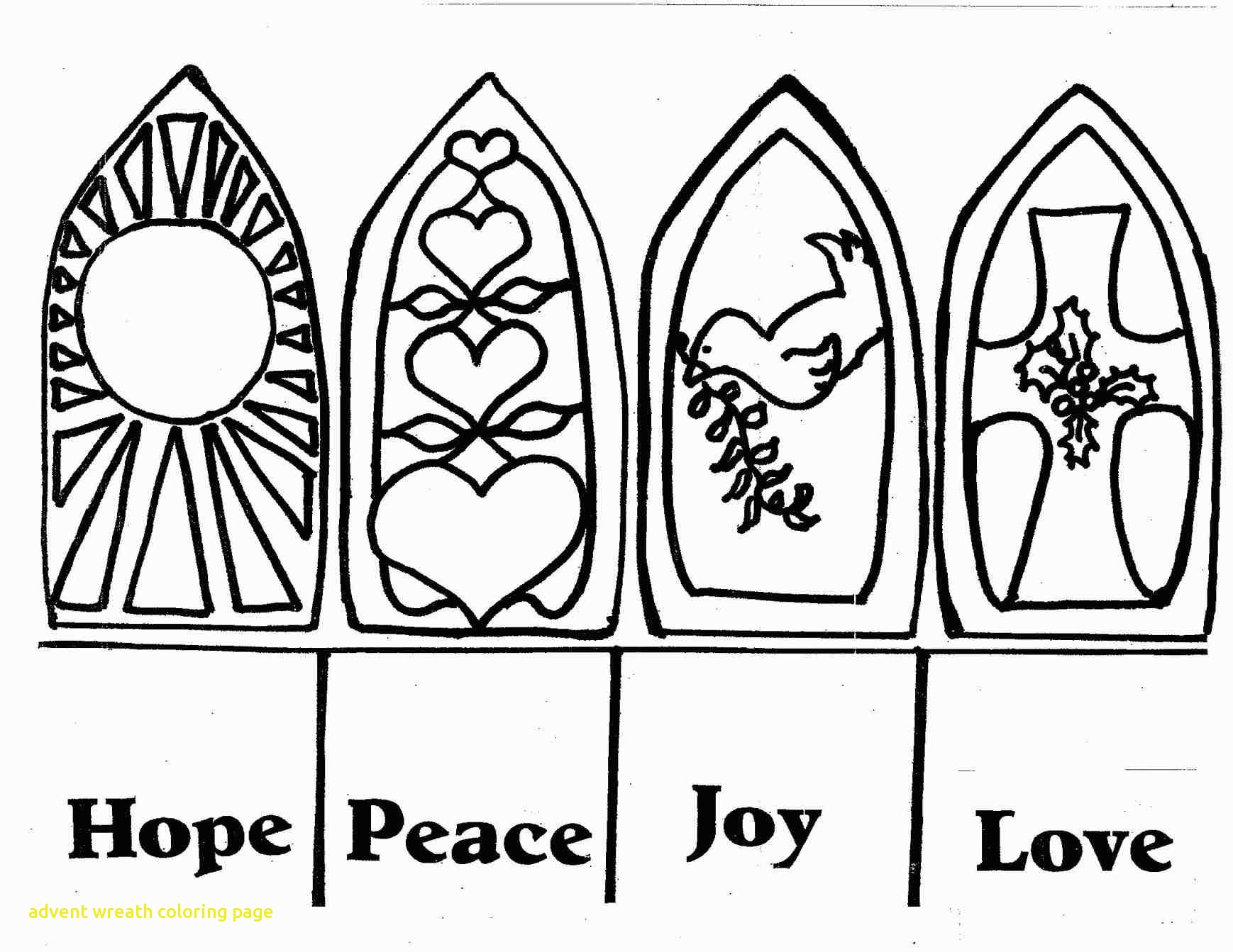 Advent Candles Drawing at GetDrawings | Free download
