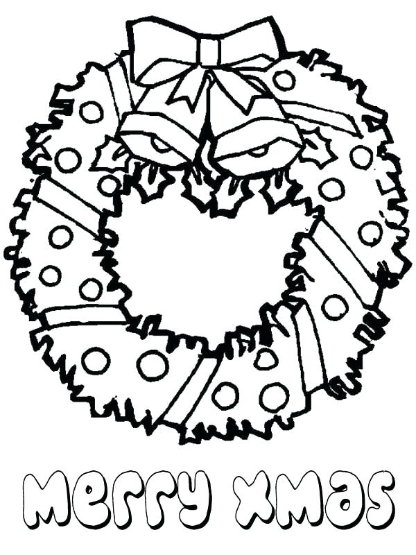 600x800 Wreath Coloring Pages Advent Wreath Coloring Page Catholic 1table.co