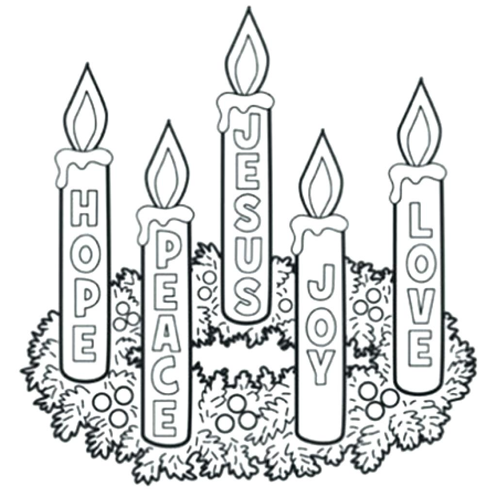 photo about Advent Wreath Printable identify Arrival Wreath Drawing at  Absolutely free for individual