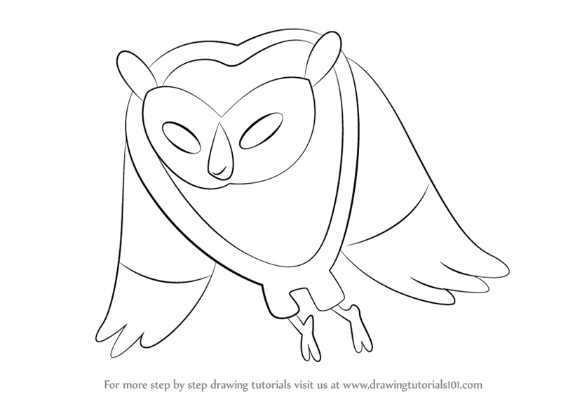 800x566 Learn How To Draw Cosmic Owl From Adventure Time (Adventure Time