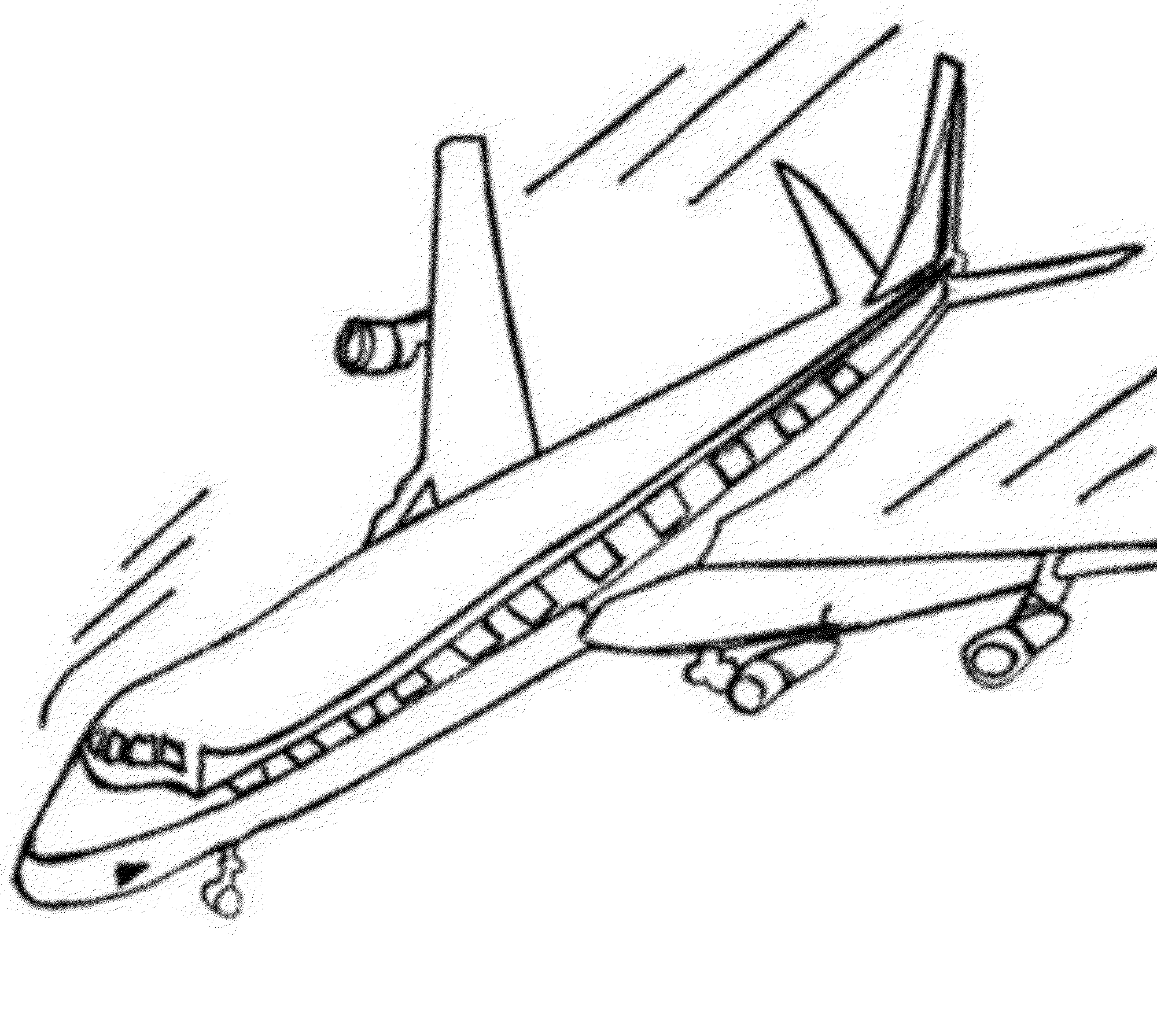 Aeroplane Drawing For Kid at GetDrawings.com | Free for personal use ...