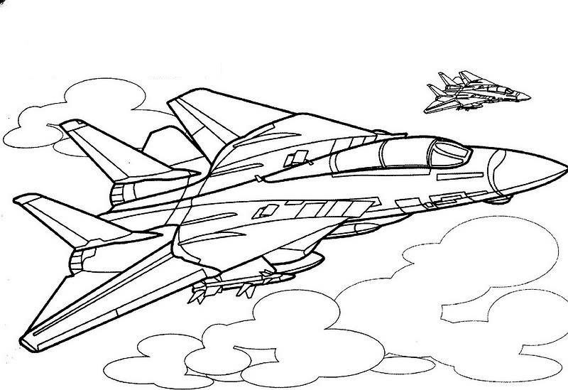 800x549 Planes Coloring Pages