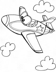 236x301 Printable Aeroplane Coloring Page Kids Arts Amp Crafts