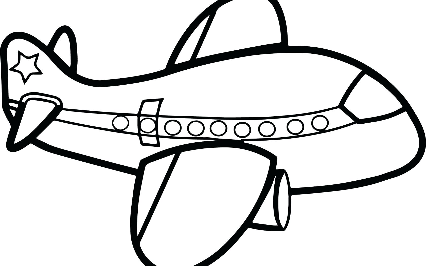 1680x1050 Coloring Airplane For Coloring