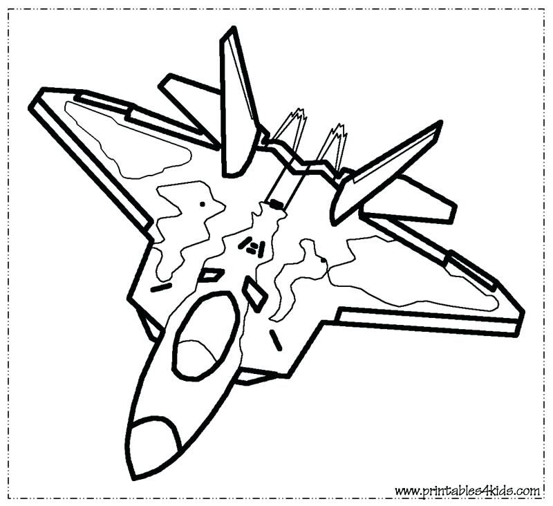 800x732 Airplane Coloring Pages To Print Fighter Jet Coloring Page