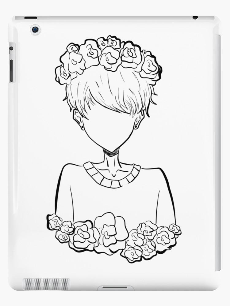 750x1000 Aesthetic Pastel Tumblr Rose Boy Ipad Cases Amp Skins By