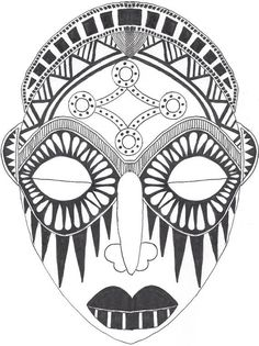 236x315 African Mask Drawings This Free Clip Art Is Designed To Help You