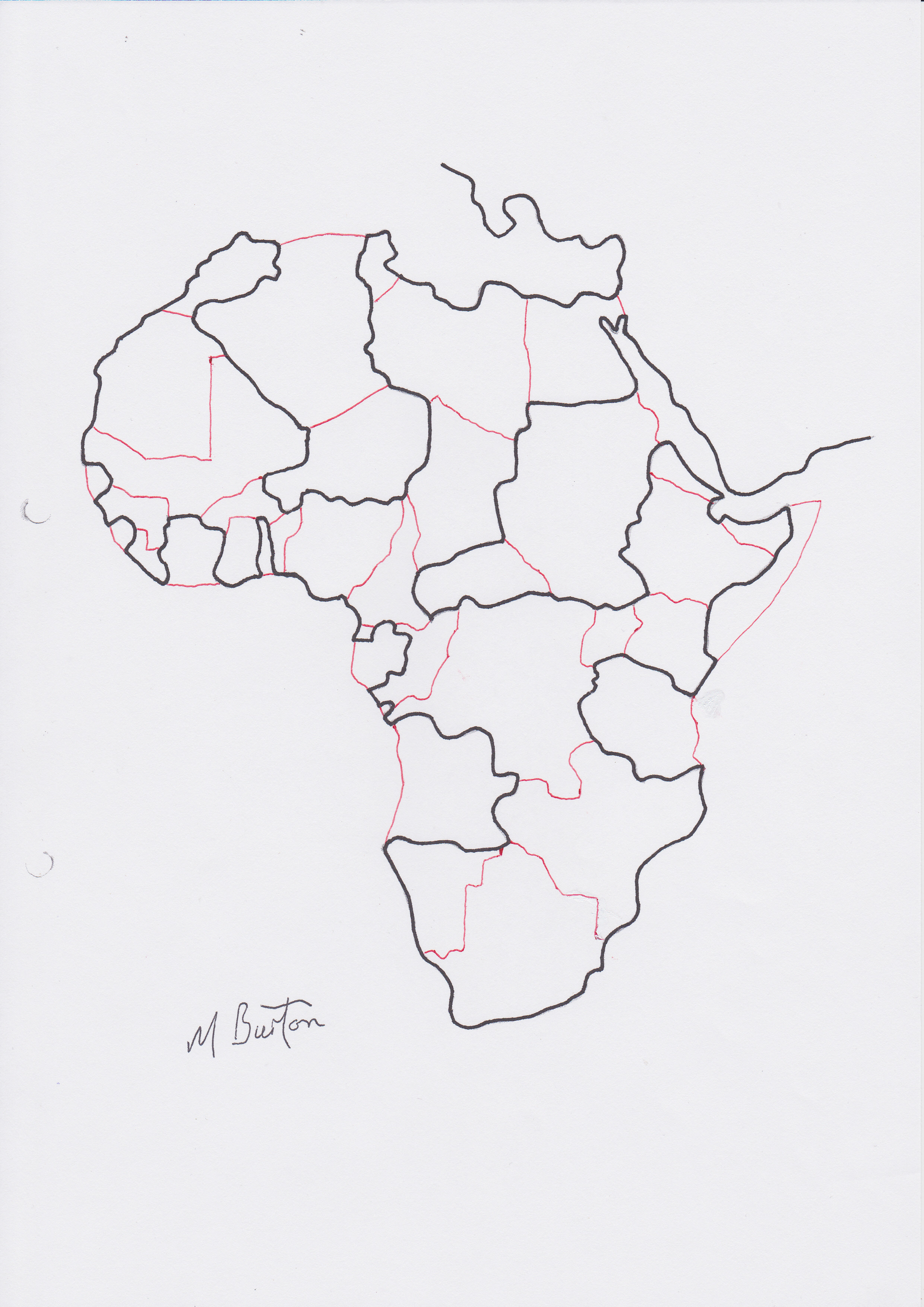 2480x3507 Africa Mick Burton