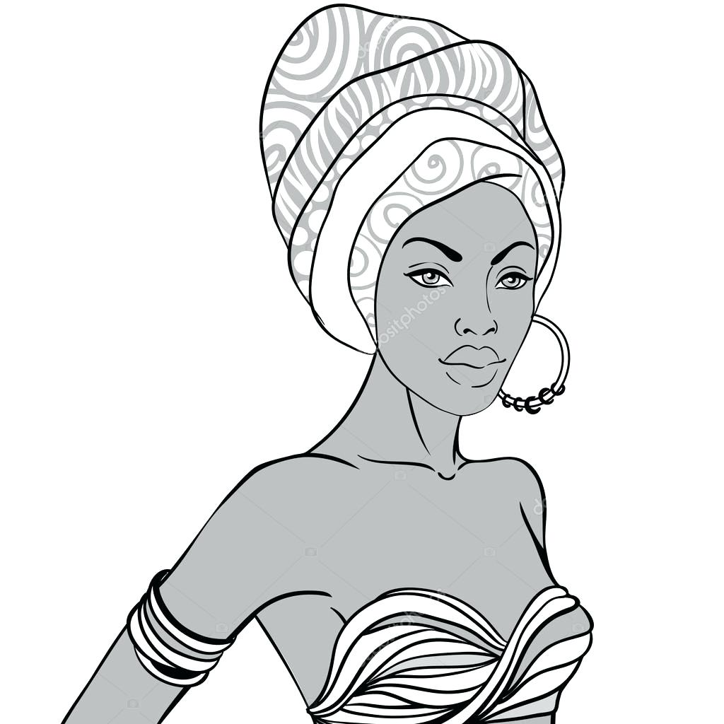 1024x1024 Coloring African American Sheets