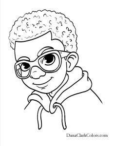 232x300 African American Coloring Sheets African American Free Coloring