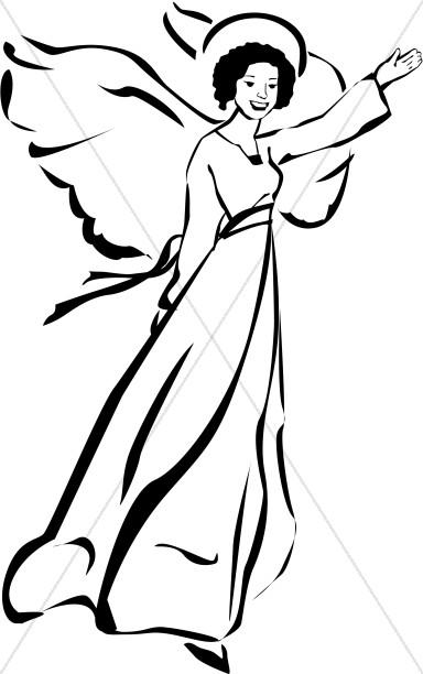 384x612 Angel Woman Clipart Angel Clipart