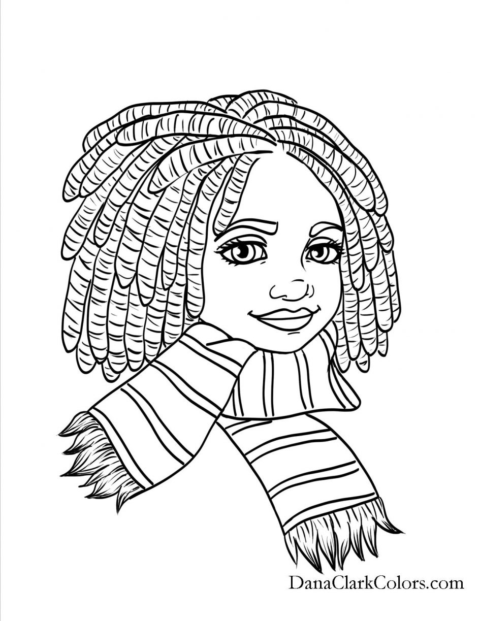 African American Woman Drawing at GetDrawings | Free download