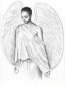 231x300 African American Woman Drawings