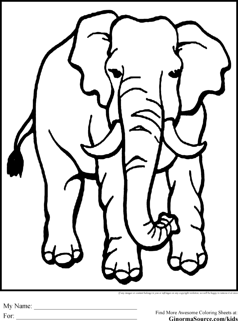 761x1024 Coloring Page African Animals Az Coloring Pages Indian Animals