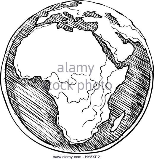 520x540 Africa Map Cartoon Stock Photos Amp Africa Map Cartoon Stock Images