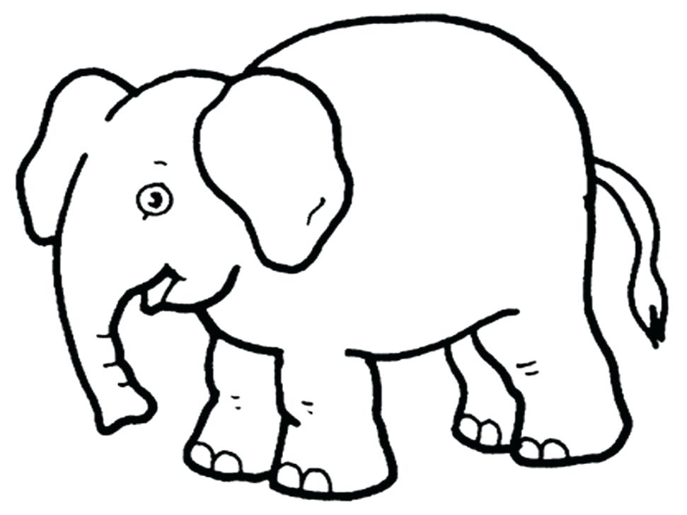 971x728 african elephant coloring pages elephant color page drawing sheet - Elephant Pictures To Color