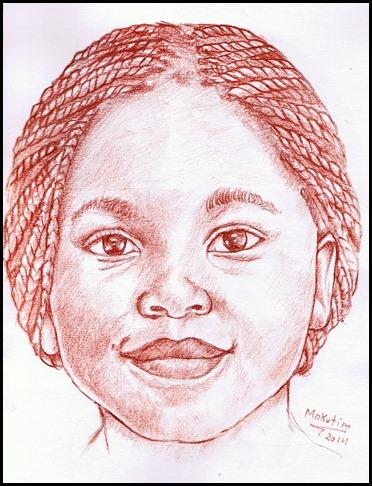 372x486 African Girl Makutiro