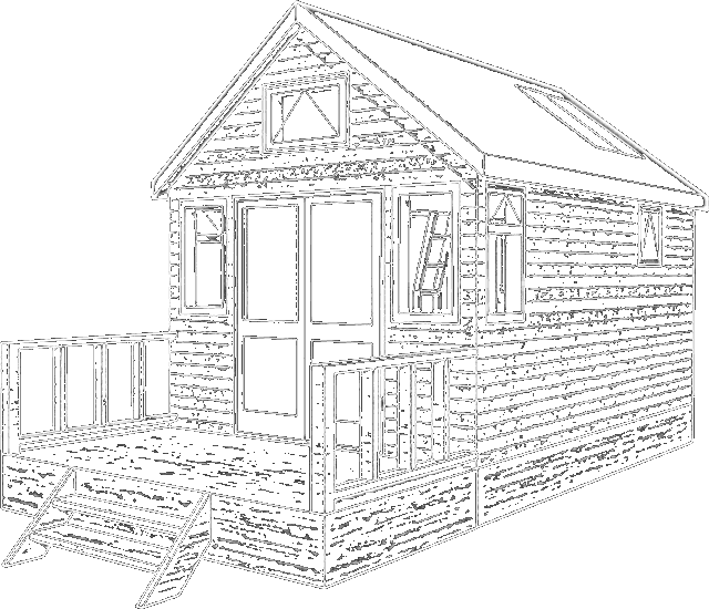640x550 Beach Hut Coloring Pages ~ The Ideas Of Coloring Page