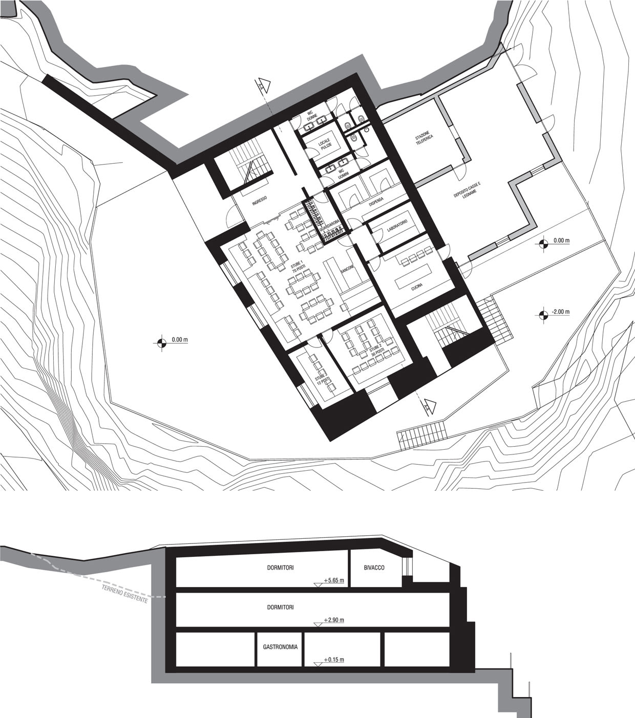 1240x1403 Reisarchitettura Competition Mountain Hut Petrarca Divisare