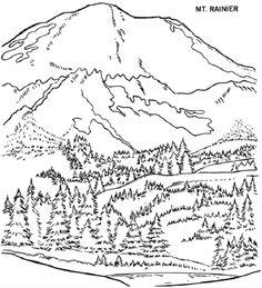 236x259 Landschaften Malvorlagen