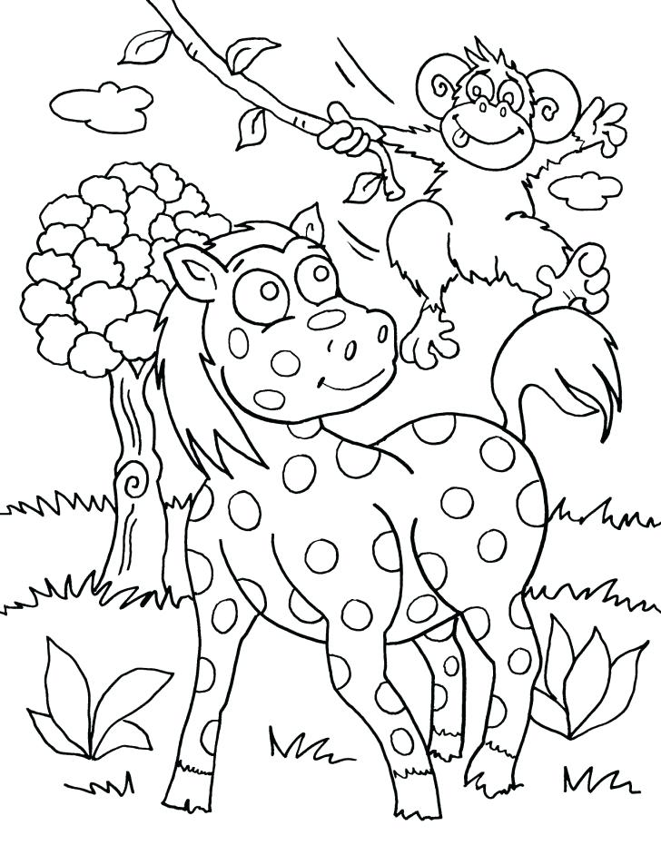 728x942 Safari Coloring Page Meet Animals At Safari Coloring Page Safari