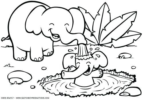 African Safari Drawing at GetDrawings.com | Free for personal use ...