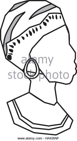 297x540 African Woman Face Silhouette Stock Photos Amp African Woman Face