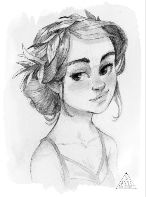 500x675 Hair Bun Drawing Tumblr