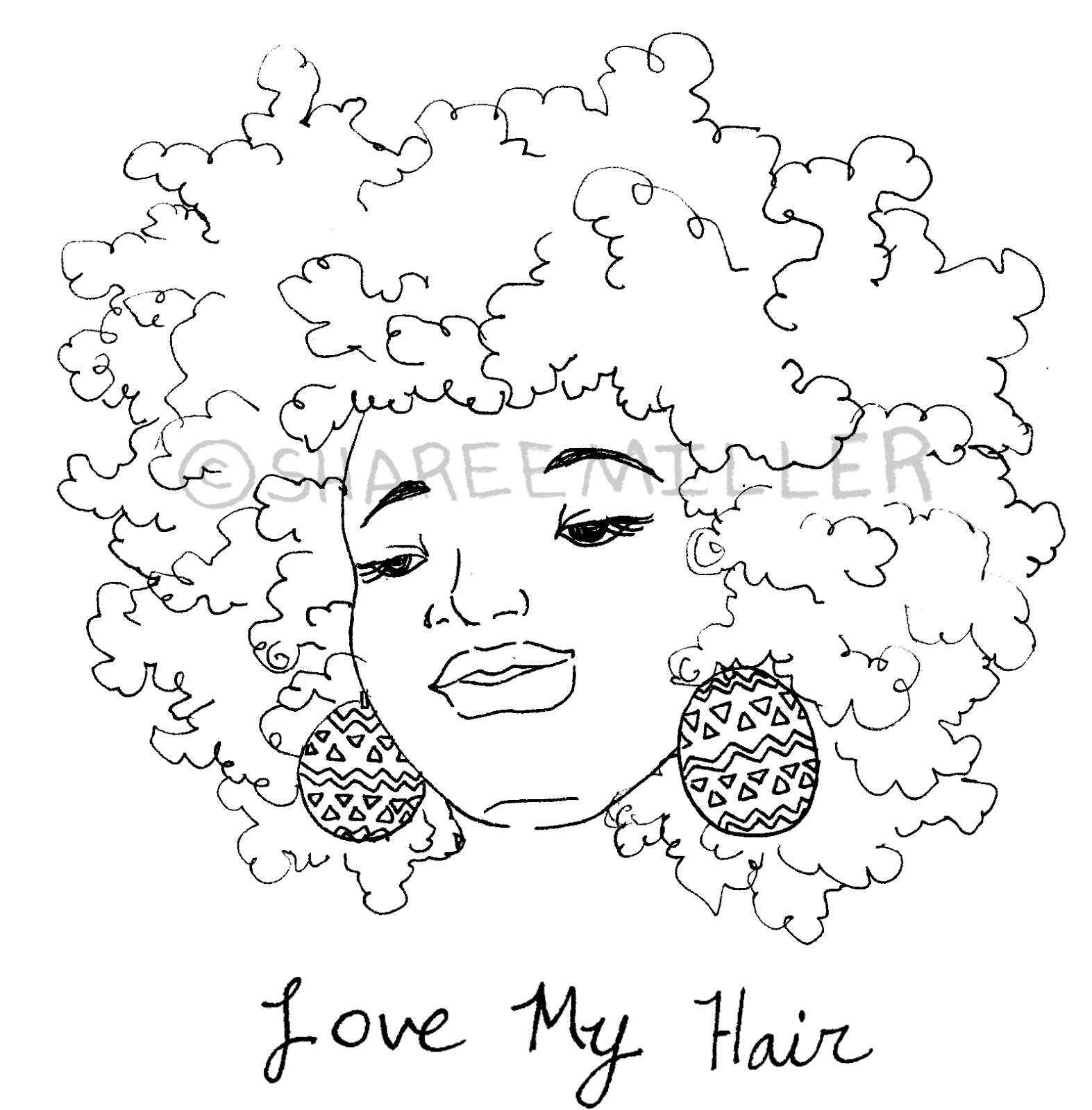 1573x1600 Coily And Cute Awesome Afro