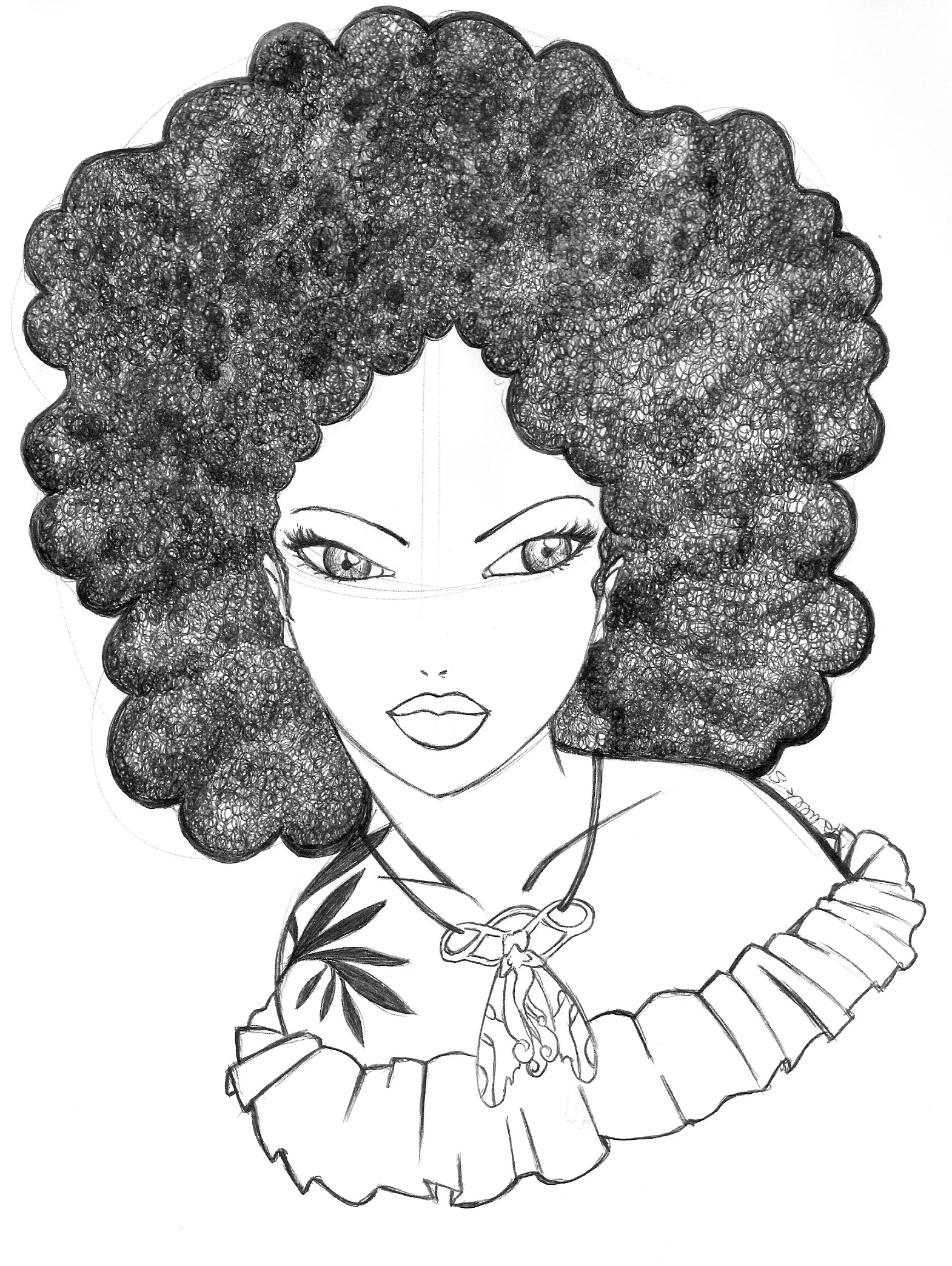 1570x2088 Angela Wears Her Funny Afro Which Gives Her A Poetic Look. Art