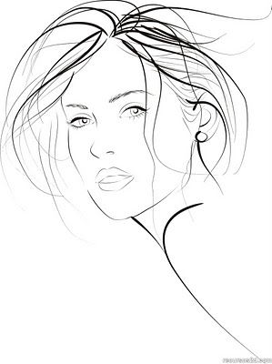 299x400 Drawn Woman Drawing