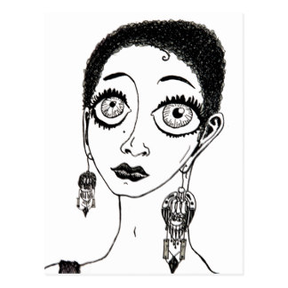 324x324 Original Drawing Of Sultry Woman Gifts On Zazzle