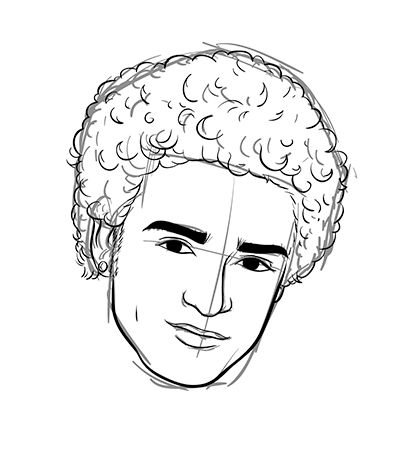 400x450 The Best How To Draw Afro Hair Ideas On Afro Hair