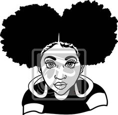 236x229 Afro Svg,afro Lady Svg,silhouette Cameo Cutting File, African