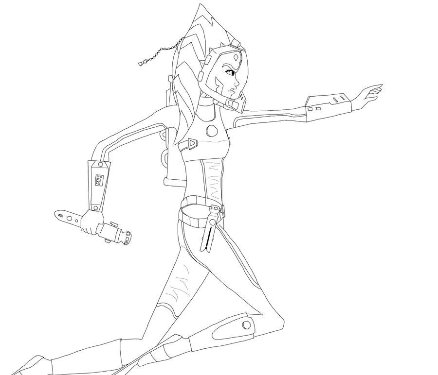 Ahsoka Tano Drawing at GetDrawingscom Free for personal use